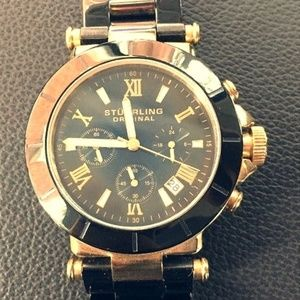 Stuhrling Professional Chronograph Watch